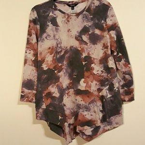 Simply Vera fringed sweatshirt